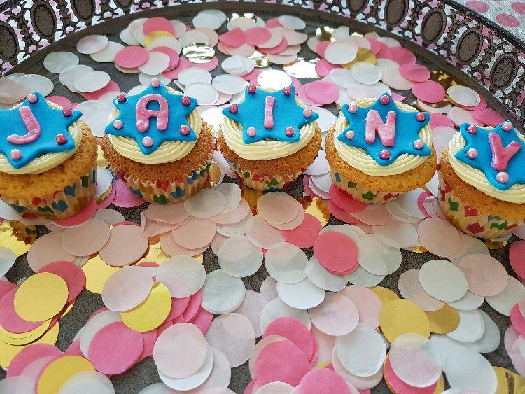 verjaardag cupcakes I