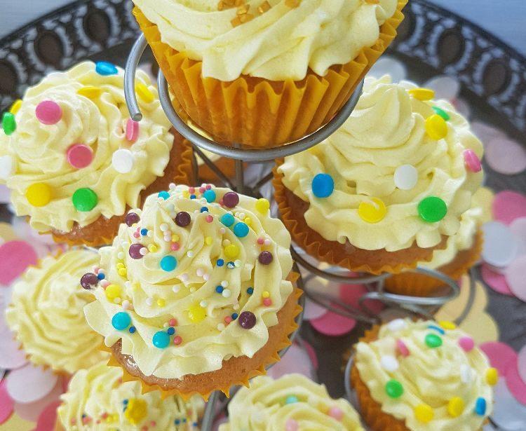 citroen cupcakes decoratie