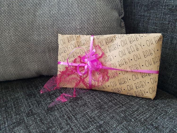 cadeauverpakking handletteren