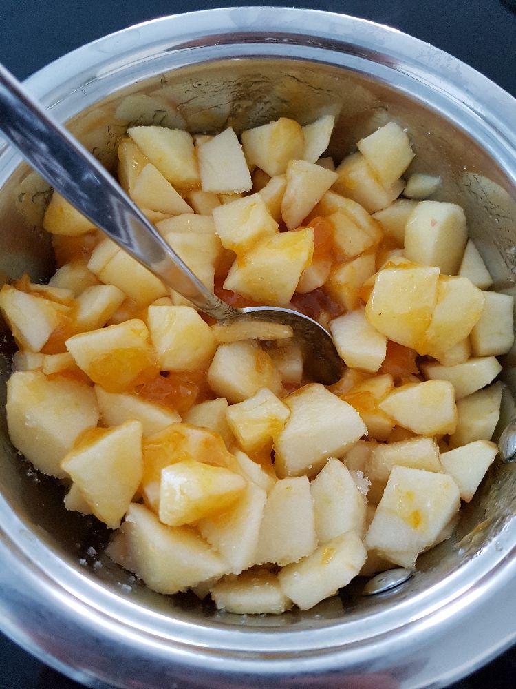 koken van appels