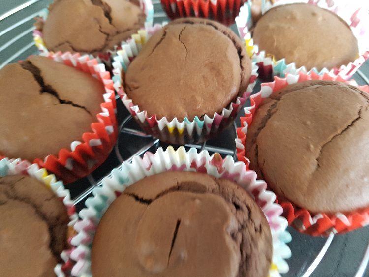 cupcakes - gebakken