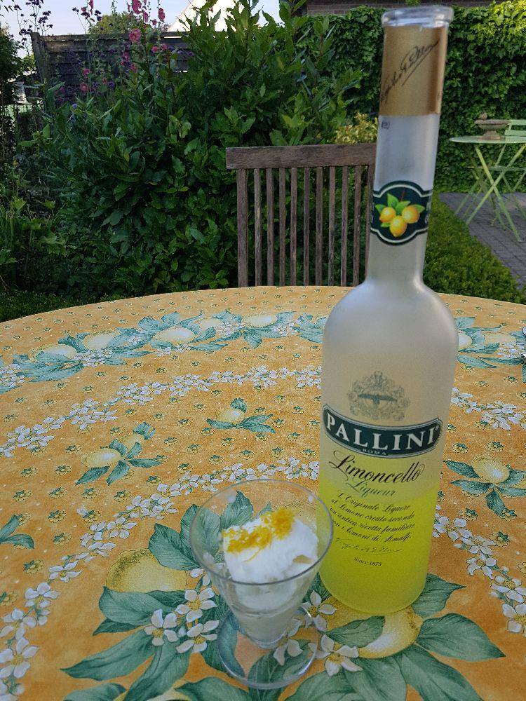 citroensorbet met Limoncello IV