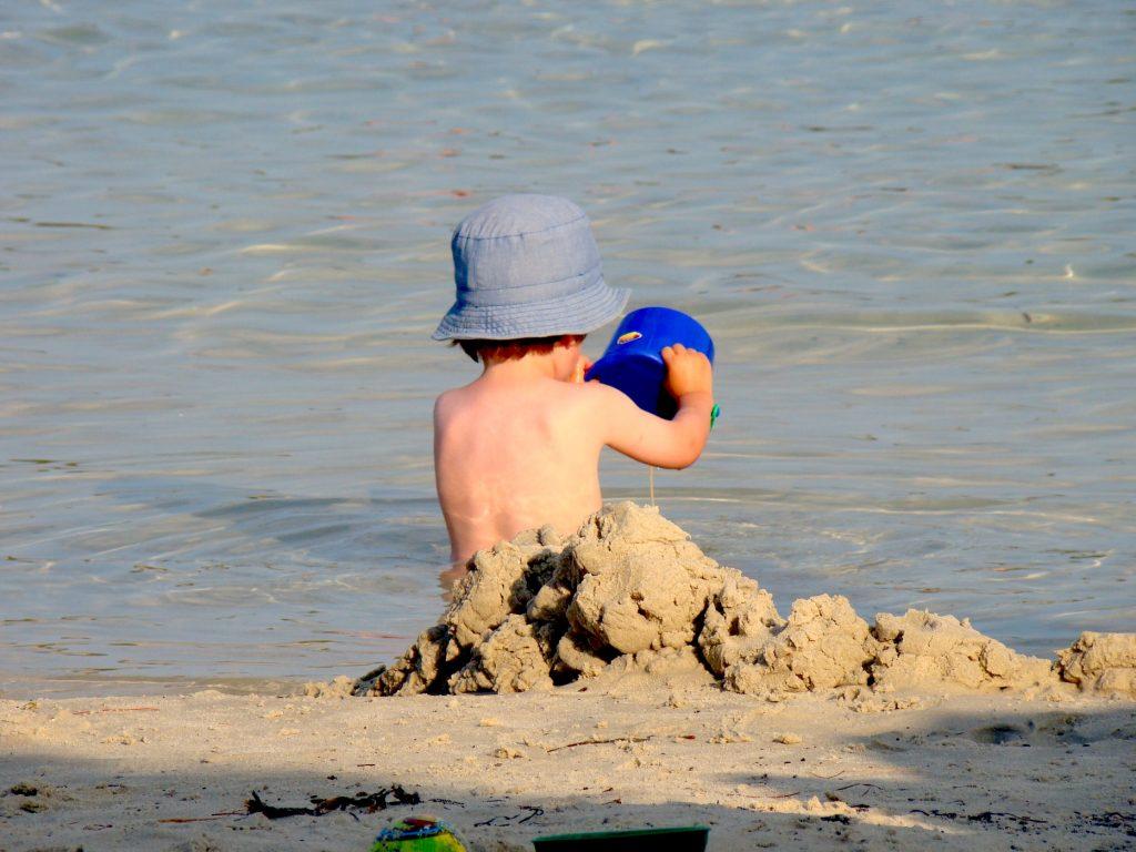 het strand - spelen