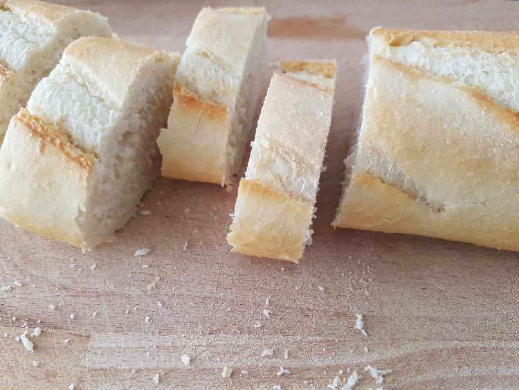 stokbrood in de oven