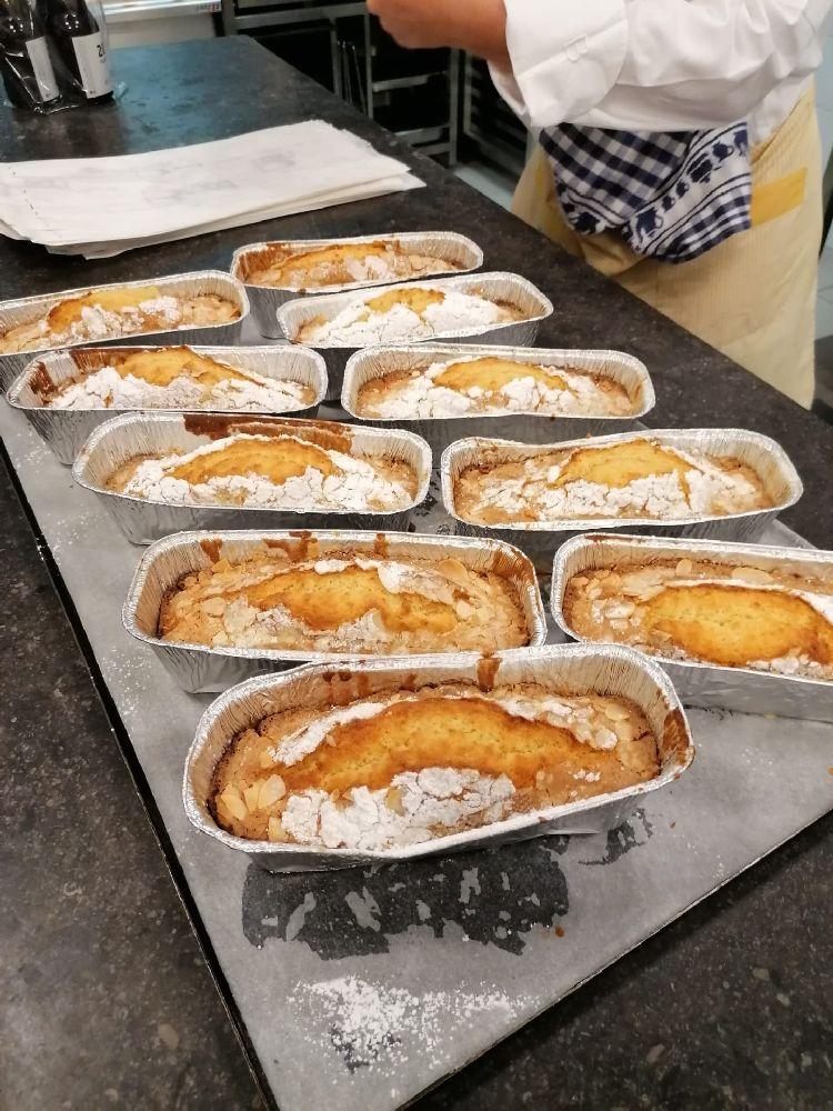 amandel botercake klaar